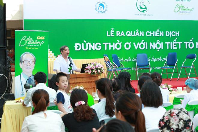 """Bảo Xuân đồng hành cùng Hội phụ sản VN phát động chiến dịch """"Đừng thờ ơ với nội tiết tố nữ"""" - 2"""