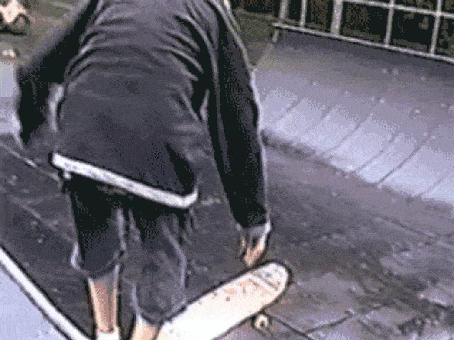 Ảnh động: Chết sặc với những pha trượt ván