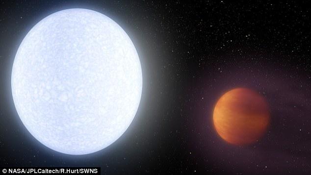 Tìm ra hành tinh nóng nhất trong dải Ngân hà - 1