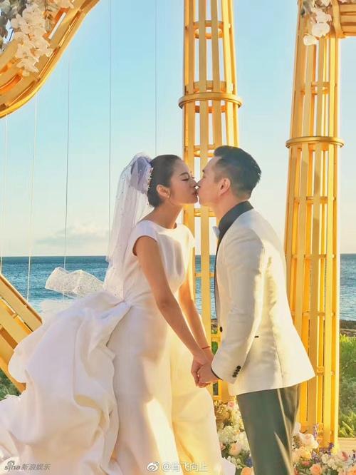 Mỹ nữ Tây Du Ký say đắm hôn tỷ phú USD trong lễ cưới chính thức - 5