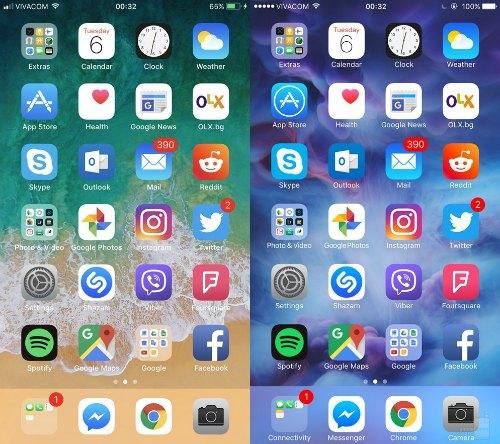 So sánh trực quan hệ điều hành iOS 11 và iOS 10 - 1