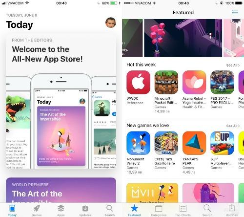 So sánh trực quan hệ điều hành iOS 11 và iOS 10 - 4