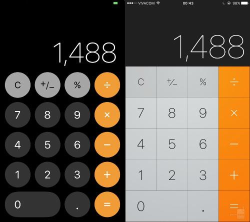 So sánh trực quan hệ điều hành iOS 11 và iOS 10 - 13