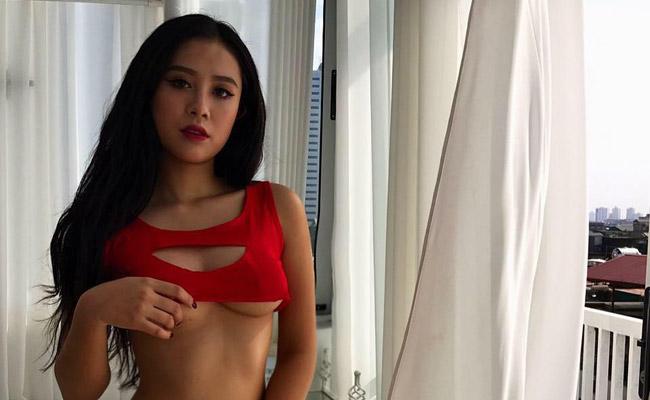Trong số những ứng viên gửi hồ sơ đến cuộc thi, Nguyễn Thị Hồng Anh (sinh năm 1998, Quảng Ninh) nổi bật nhờ gương mặt xinh đẹp như hot girl và thân hình gợi cảm.