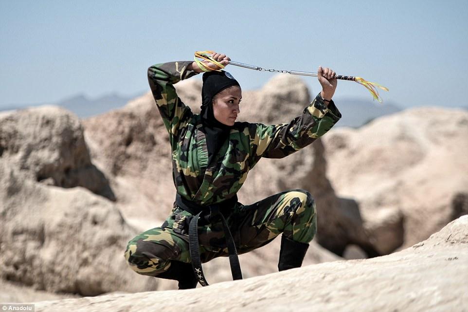 """Lò luyện 4.000 nữ ninja """"lấy mạng người dễ như bỡn"""" ở Iran - 5"""