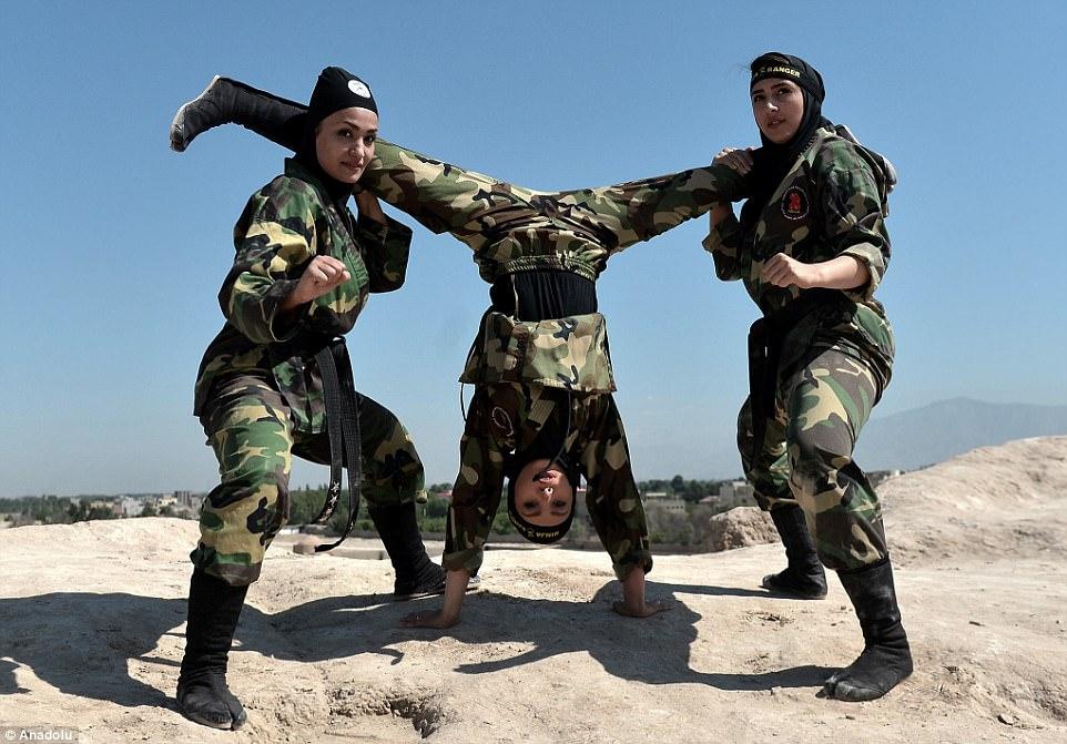 """Lò luyện 4.000 nữ ninja """"lấy mạng người dễ như bỡn"""" ở Iran - 8"""