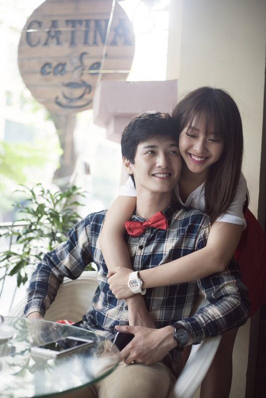 Cảnh diễn tình tứ của Huỳnh Anh và các người đẹp chẳng kém Hoàng Oanh - 12