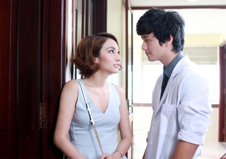 Cảnh diễn tình tứ của Huỳnh Anh và các người đẹp chẳng kém Hoàng Oanh - 9
