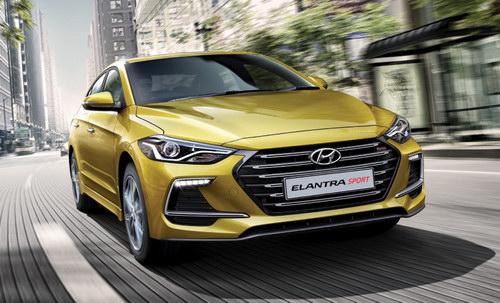 Hyundai Elantra 2017 có giá từ 637 triệu đồng - 1