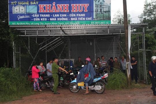 Đôi nam nữ cùng chết trong căn nhà mặt tiền ở Đồng Nai - 1