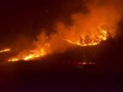 Tin tức trong ngày - Hà Nội: Cháy rừng ở Sóc Sơn là lớn nhất, lâu nhất trong lịch sử
