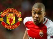 Bóng đá - Chuyển nhượng MU: Nâng giá Mbappe 113 triệu bảng