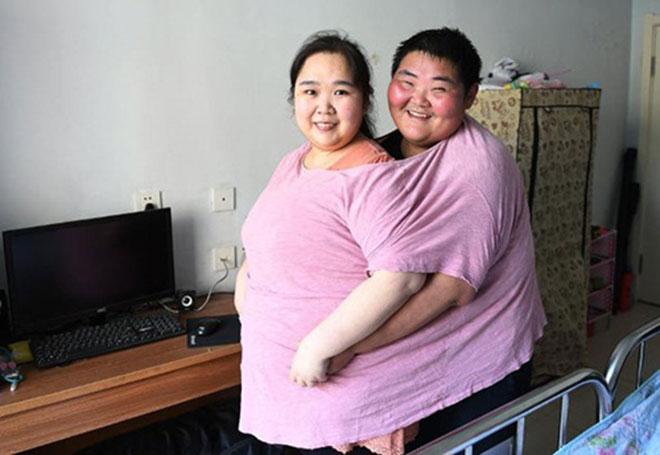 Cặp vợ chồng trẻ cùng nhau giảm 200kg để sinh con - 1