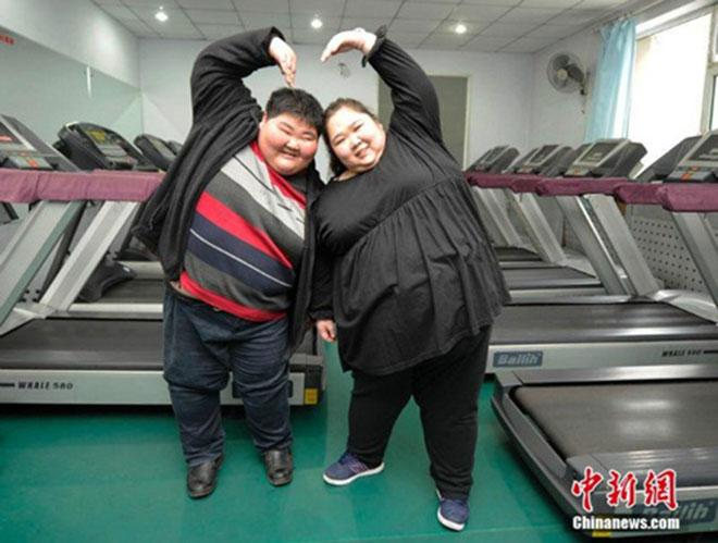 Cặp vợ chồng trẻ cùng nhau giảm 200kg để sinh con - 3
