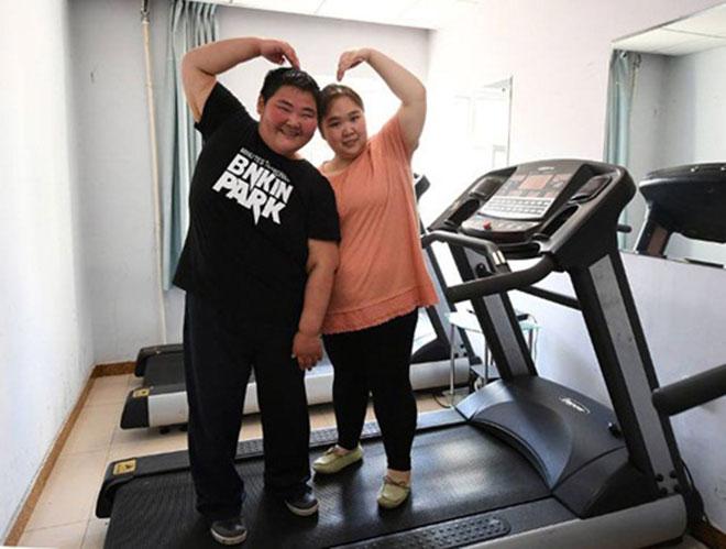Cặp vợ chồng trẻ cùng nhau giảm 200kg để sinh con - 4