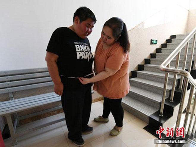 Cặp vợ chồng trẻ cùng nhau giảm 200kg để sinh con - 5