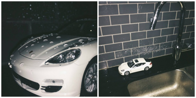 """Cách mà thanh niên sống ảo chụp ảnh khoe  """" siêu xe """"  mới mua."""