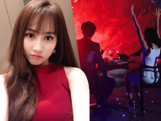 """Lộ danh tính cô gái cực xinh được cho là """"người mới"""" của Huỳnh Anh"""