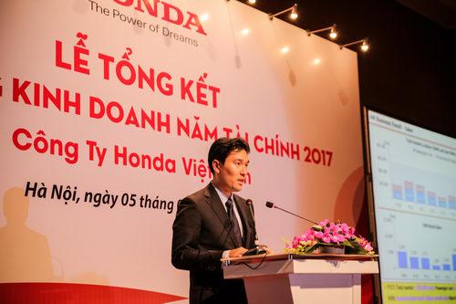 Honda Việt Nam bán ra hơn 12.000 ô tô trong năm tài chính 2017 - 1