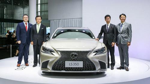 Lexus ra mắt thêm phiên bản LS 350 giá khoảng 3,3 tỷ đồng