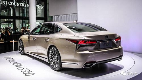 Lexus ra mắt thêm phiên bản LS 350 giá khoảng 3,3 tỷ đồng - 3