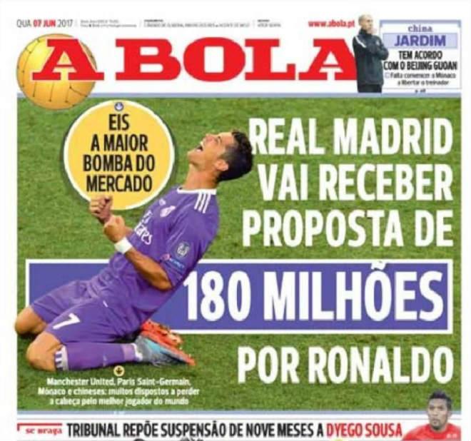 MU & PSG đấu giá Ronaldo: Real chào bán 180 triệu euro - 2