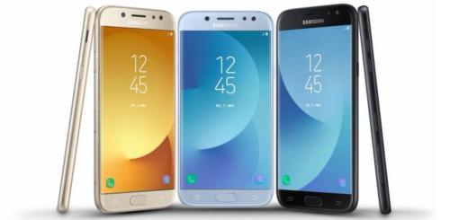 Bộ ba Galaxy J3, J5, J7 (2017) trình làng, giá mềm - 1
