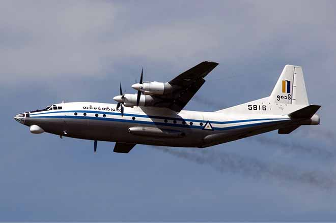Máy bay quân sự chở hơn 100 người mất tích ở Myanmar - 1
