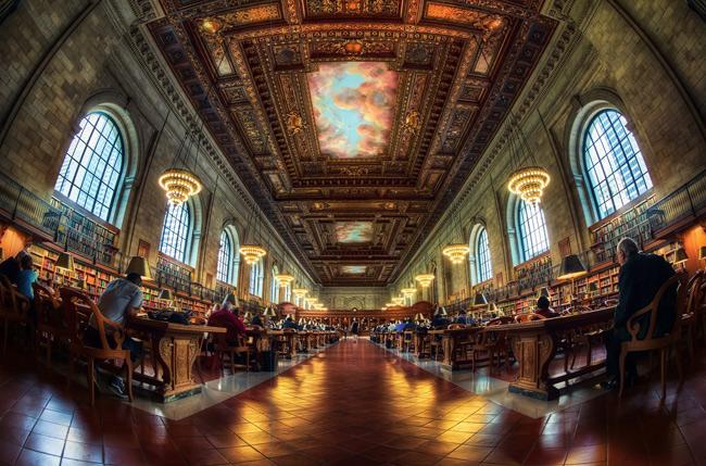 3. Thư viện Công cộng New York, Mỹ