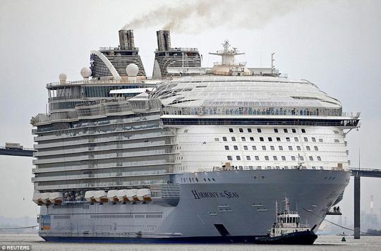 """Thiết kế độc của du thuyền """"hiện đại nhất thế giới"""" - 2"""