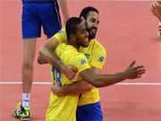 Thể thao - Kinh điển bóng chuyền: Brazil oanh tạc vùi dập Italia