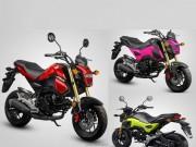 Thế giới xe - Honda MSX 125cc 2017 bổ sung thêm 4 tùy chọn màu sắc mới