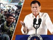 Ông Duterte hạ lệnh nghiền nát khủng bố IS ở Marawi