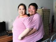 """Sức khỏe đời sống - Cặp đôi nặng 400kg giảm 200kg để """"quan hệ"""" và sinh con"""