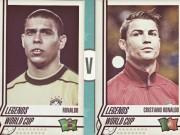 """Ronaldo - huyền thoại đương đại: Ro  """" béo """"  hay Ro  """" điệu """" , ai VĨ ĐẠI hơn (P3)"""
