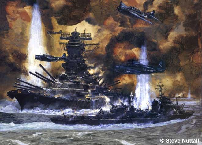 Trận đánh tan tành siêu chiến hạm Nhật, 2.500 người chết - 1