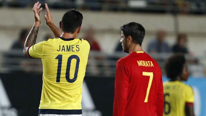 Chuyển nhượng Real: Morata & James vẫn là đồng đội - 1