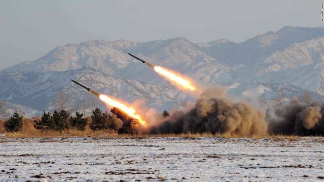 Tên lửa Triều Tiên vừa bắn đủ sức hạ gục tàu sân bay Mỹ - 1