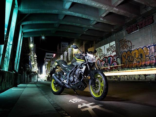 """Yamaha YZF-R3 và MT-03 có màu """"áo"""" mới"""