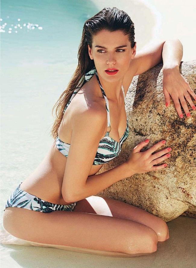 Cô là bạn gái của chân sút 39 tuổi người Argentina - Juan Riquelme.