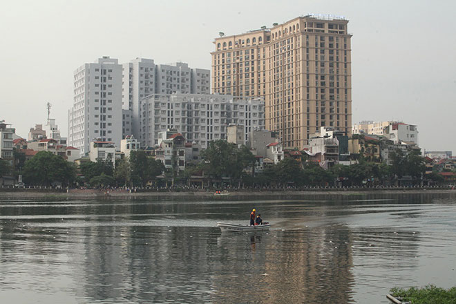 HN: Tròn 1 năm, cá lại chết trắng hồ Hoàng Cầu - 3
