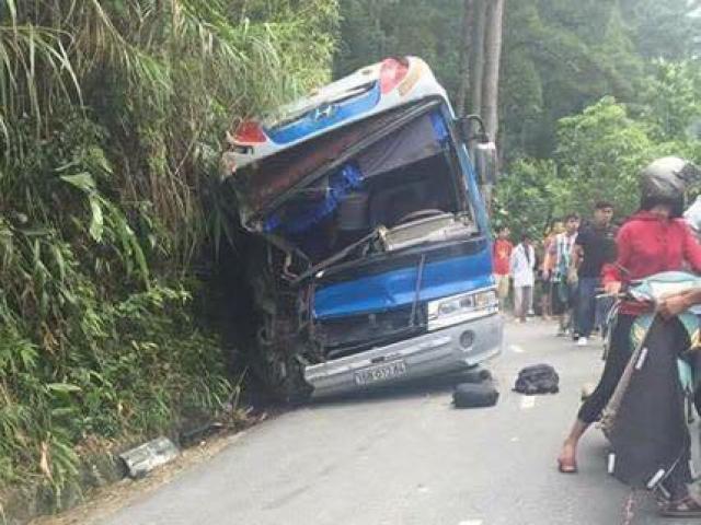 Tai nạn 2 người tử vong ở Tam Đảo: Tài xế cố tình tông vào vách núi - 2