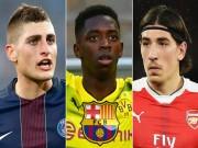 """Bóng đá - Chuyển nhượng Barca: """"Hồi sinh"""" với canh bạc 3800 tỷ đồng mua 3 sao"""