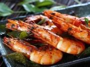Ẩm thực - Tôm nướng lá cà ri ngon ngất ngây