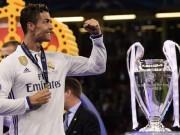 """Bóng đá - Lập cú đúp cúp C1, """"Vua"""" Ronaldo kiếm tiền số 1 thế giới"""