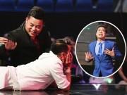 """TV Show - Mr. Đàm nằm dài ngắm Ngọc Sơn """"phát điên"""" trên sân khấu"""