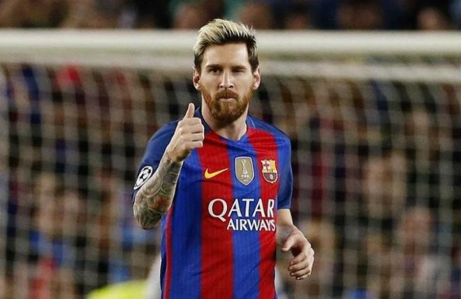 Messi ký hợp đồng 350 triệu bảng, lương vượt Ronaldo