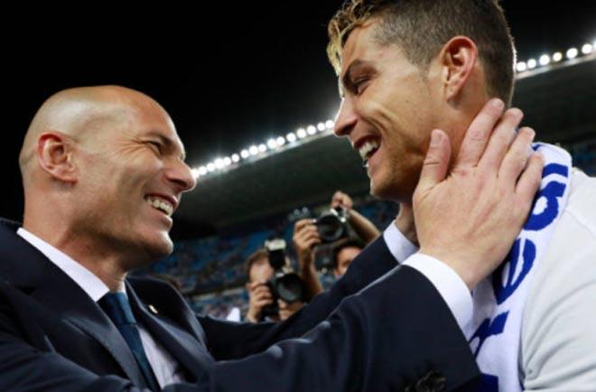 Triều đại của Real – Zidane: Chỉ Barca & MU lật đổ được
