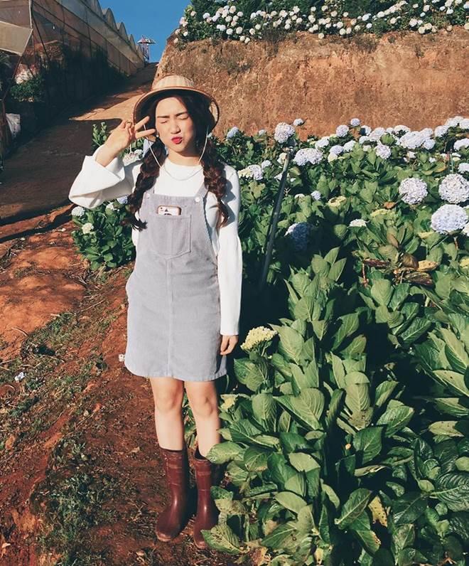 Hòa Minzy khoe style học sinh cực đáng yêu - 8
