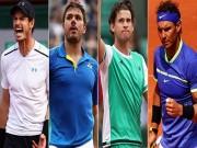 "Bán kết Roland Garros: Thiem  "" giật đuốc ""  của Nadal"